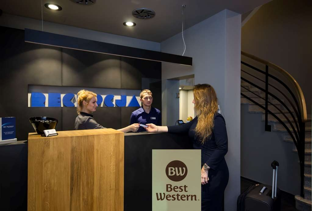Best Western Hotel Mariacki - Réception