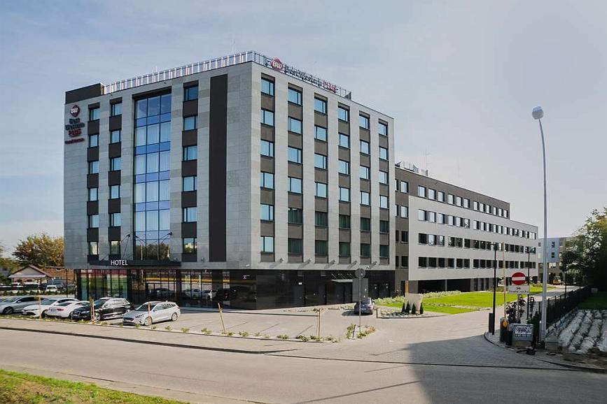 Best Western Plus Hotel Warsaw - Vista exterior