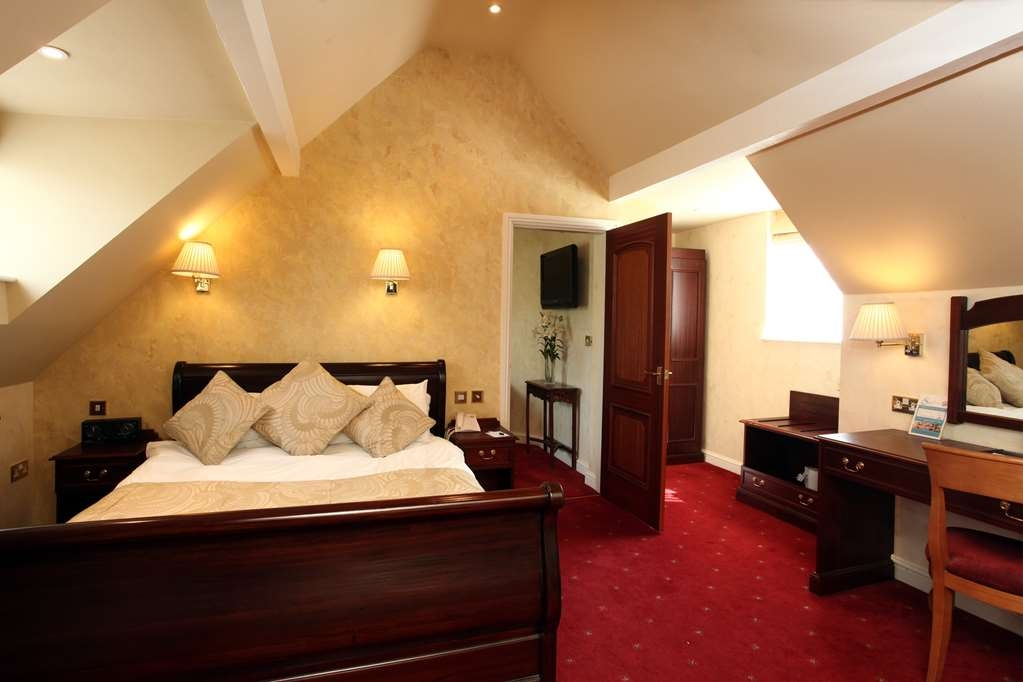 Birmingham North Moor Hall Hotel, BW Premier Collection - moor hall hotel bedrooms