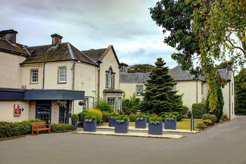 Best Western Plus Dunfermline Crossford Keavil House Hotel - keavil house hotel grounds and hotel