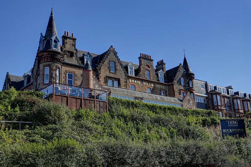 Best Western Edinburgh South Braid Hills Hotel - Aussenansicht