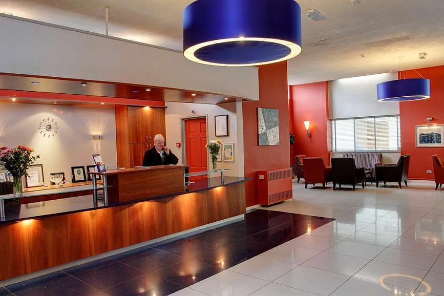 Best Western Aberavon Beach Hotel - aberavon beach hotel grounds and hotel