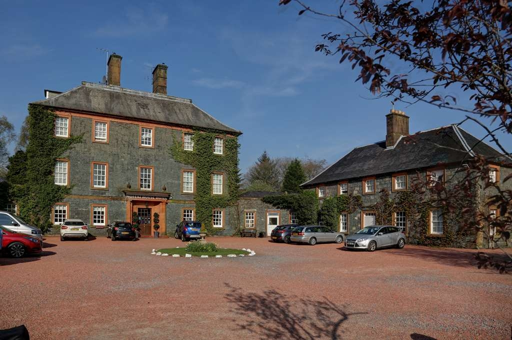 Best Western Moffat House Hotel - moffat house hotel grounds and hotel