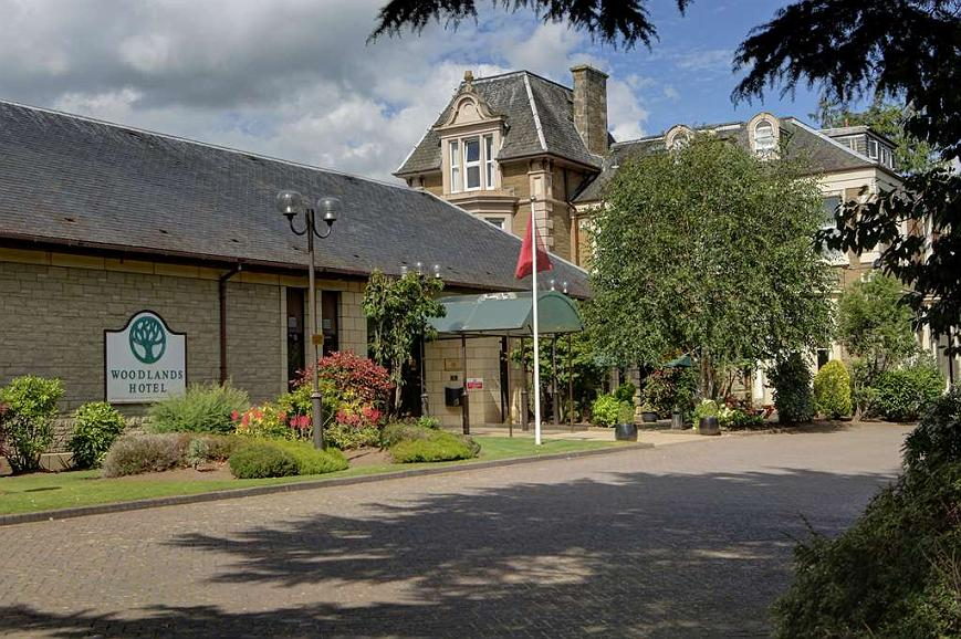 Best Western Dundee Woodlands Hotel - woodlands hotel grounds and hotel
