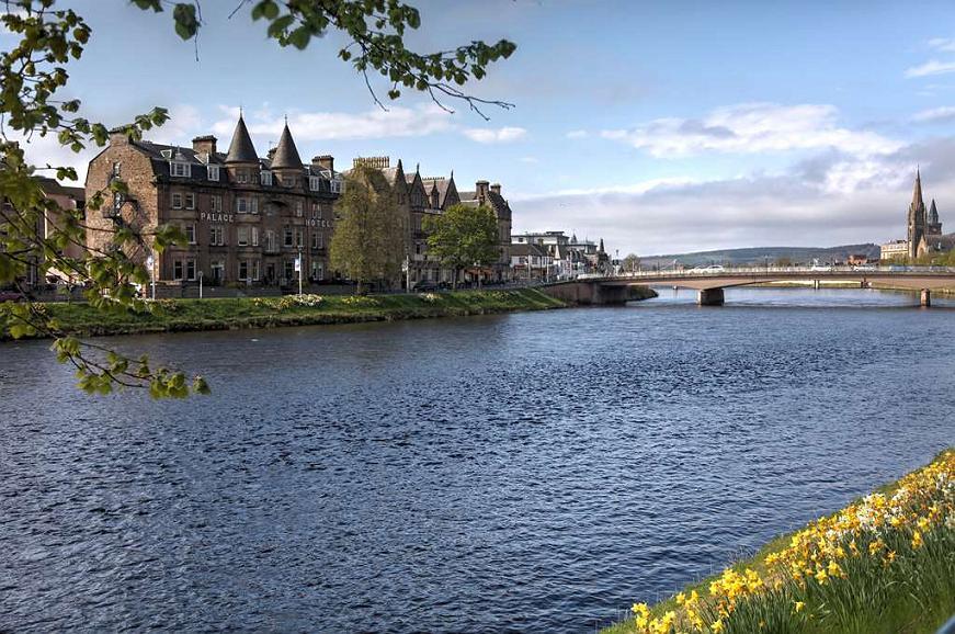 Best Western Inverness Palace Hotel & Spa - Area esterna