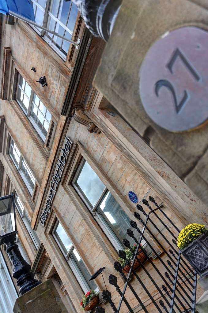 Best Western Glasgow City Hotel - glasgow city hotel grounds and hotel OP