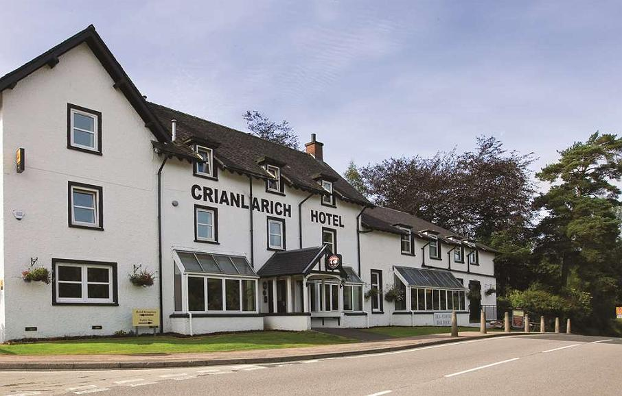 Best Western Crianlarich Hotel - crianlarich hotel grounds and hotel