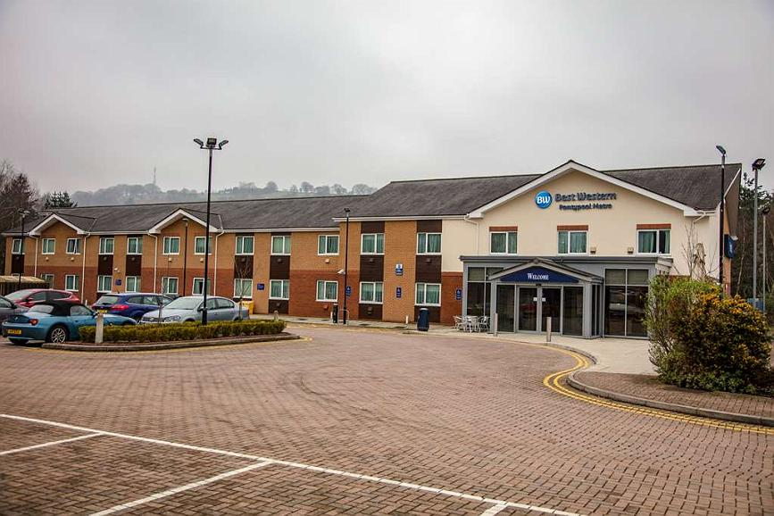 Best Western Pontypool Metro Hotel - pontypool metro hotel grounds and hotel