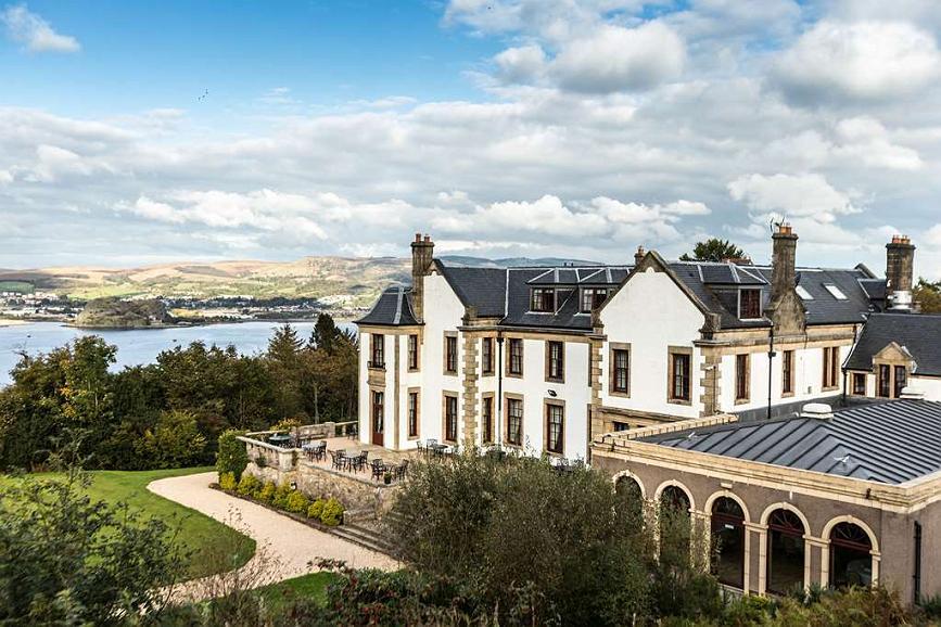 Gleddoch Hotel Spa & Golf, BW Premier Collection - gleddoch house hotel grounds and hotel