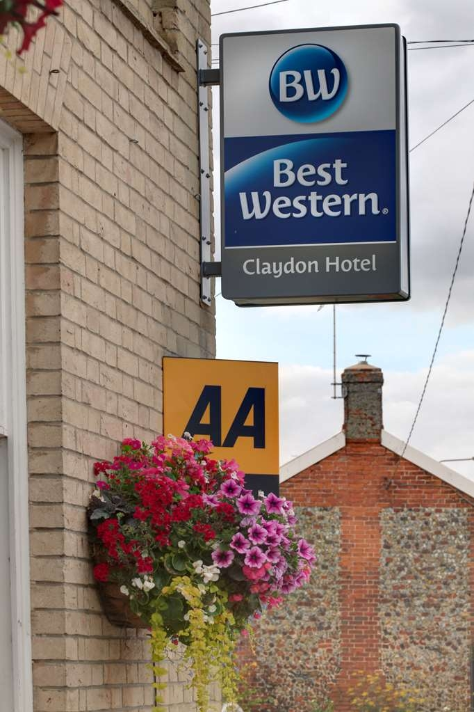 Best Western Claydon Hotel - claydon country house hotel grounds and hotel OP