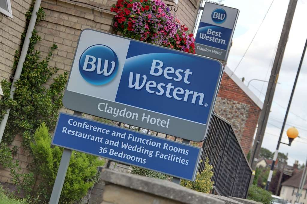 Best Western Claydon Hotel - claydon country house hotel grounds and hotel