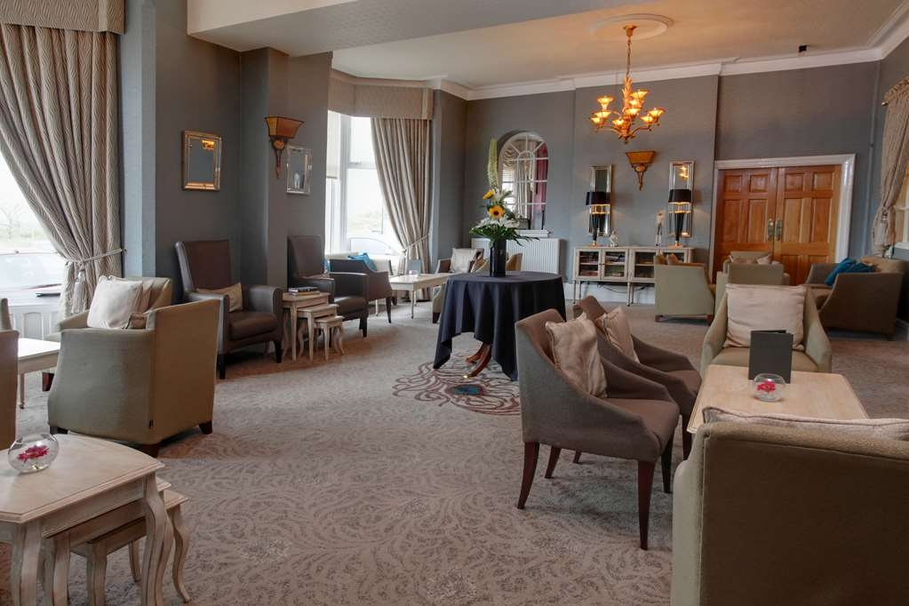Best Western Plus Blackpool Lytham St Annes Glendower Hotel - glendower promenade hotel grounds and hotel
