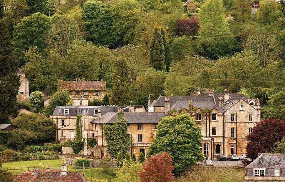 Best Western Limpley Stoke Hotel - limpley stoke hotel grounds and hotel