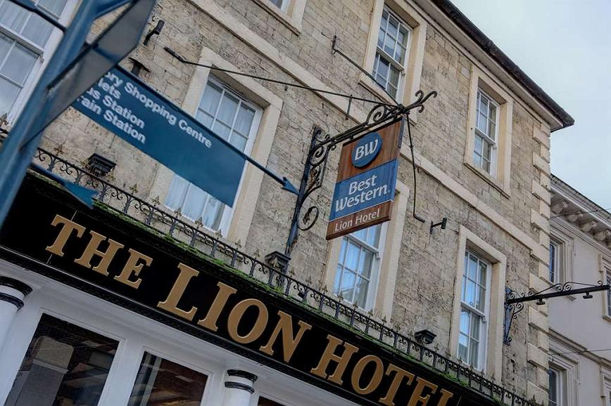Best Western Lion Hotel - Vue extérieure