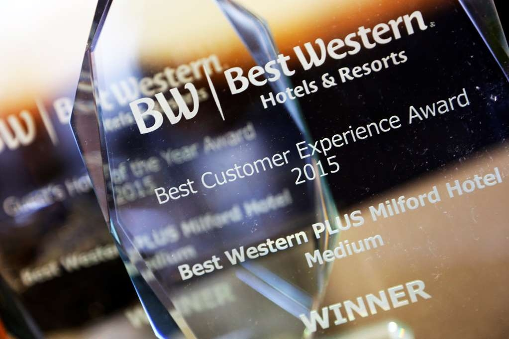 Best Western Plus Milford Hotel - milford hotel grounds and hotel