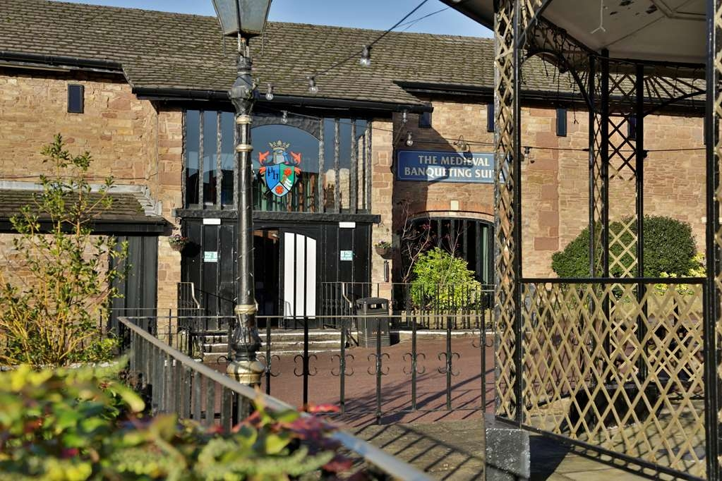 Best Western Preston Chorley West Park Hall Hotel - Facciata dell'albergo
