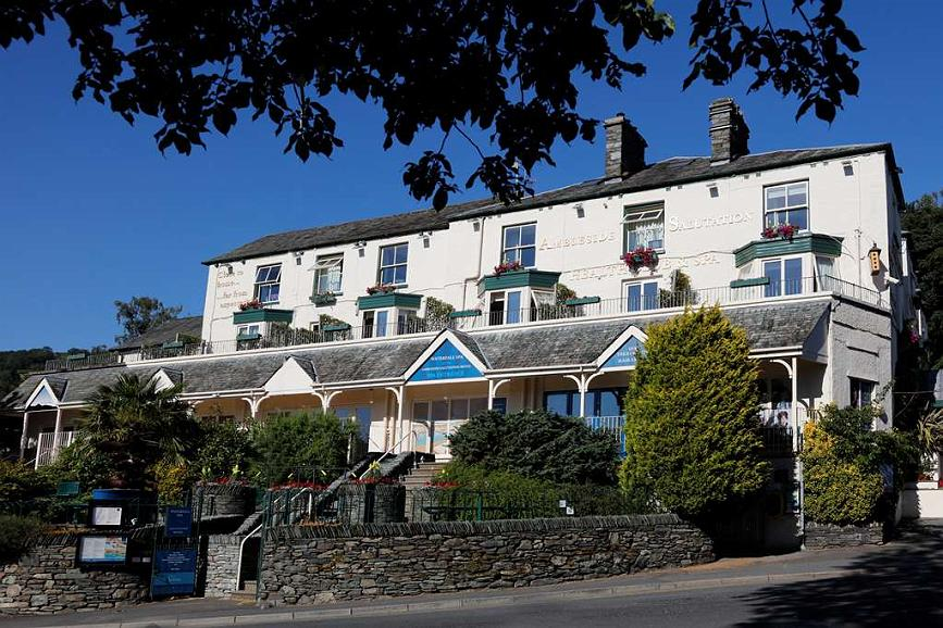 Ambleside Salutation Hotel & Spa, BW Premier Collection - ambleside salutation hotel grounds and hotel