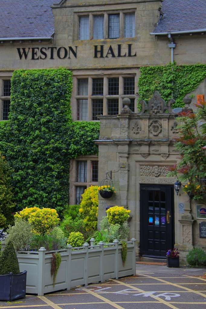 Best Western Weston Hall Hotel - weston hall hotel grounds and hotel OP