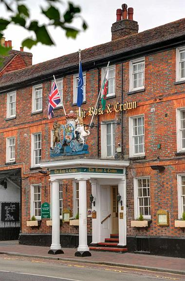 Best Western Rose and Crown in Tonbridge - Vue extérieure