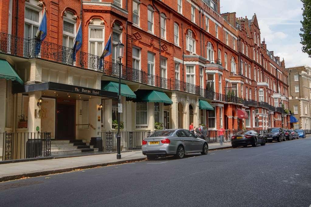 Best Western Burns Hotel Kensington - burns hotel grounds and hotel