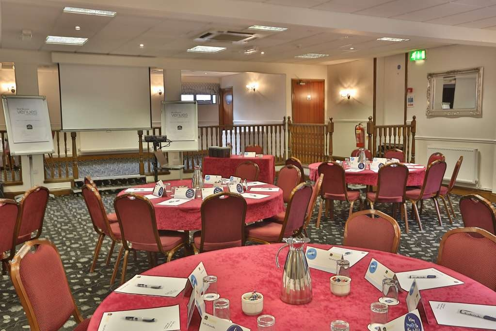 Best Western Plus Ullesthorpe Court Hotel & Golf Club - Sala de reuniones