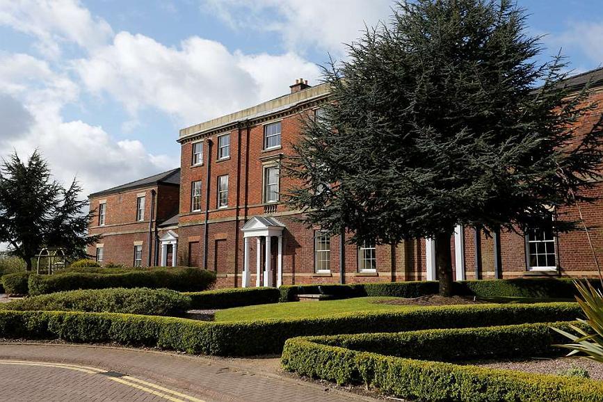 Best Western Plus Stoke-on-Trent Moat House - Aussenansicht