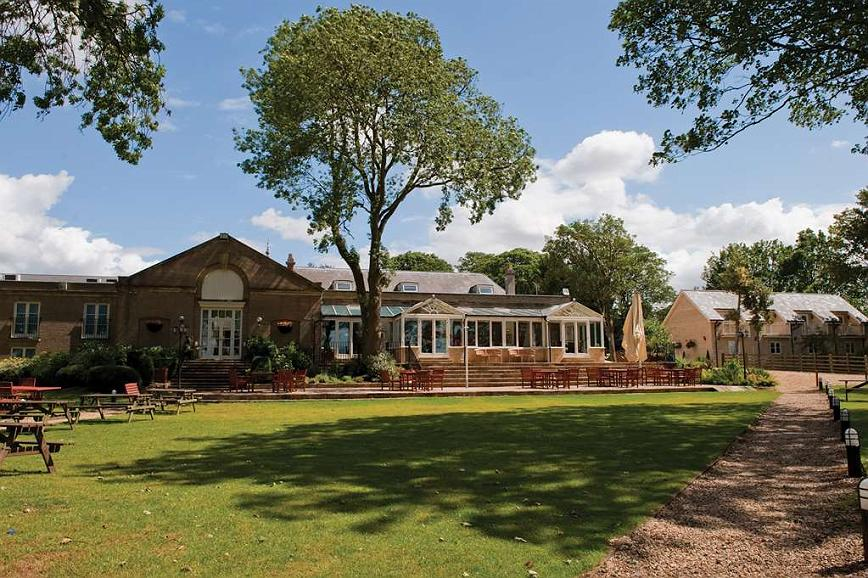 Best Western Normanton Park Hotel - normanton park hotel grounds and hotel