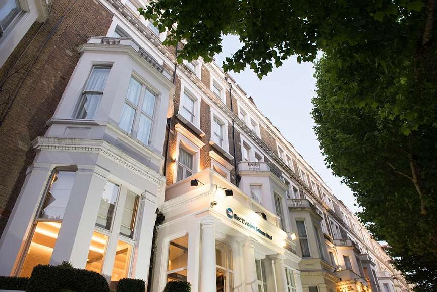 Best Western Boltons Hotel London Kensington - Vista exterior