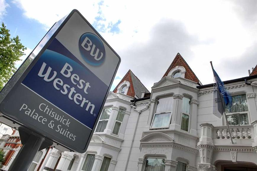Best Western Chiswick Palace & Suites - chiswick palace grounds and hotel