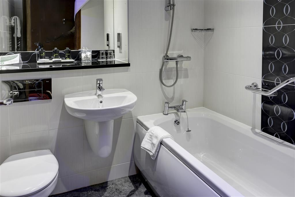 Best Western Ribble Valley, Blackburn, Mytton Fold Hotel - Salle de bains