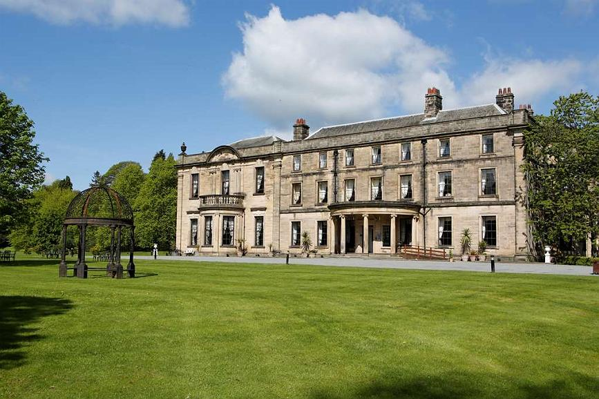 Hotel in Stanley | Beamish Hall Country House Hotel, BW