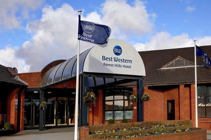 Best Western Frodsham Forest Hills Hotel - Area esterna