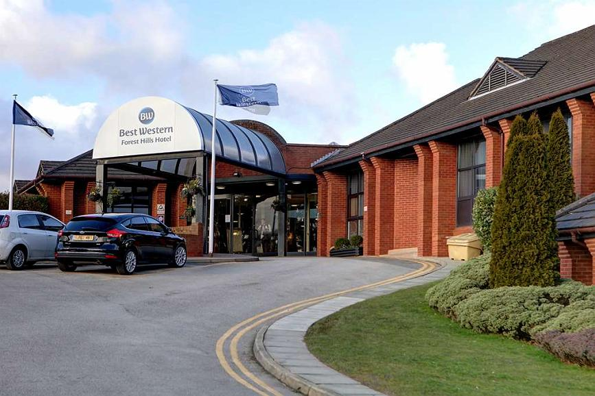 Best Western Frodsham Forest Hills Hotel - Vue extérieure