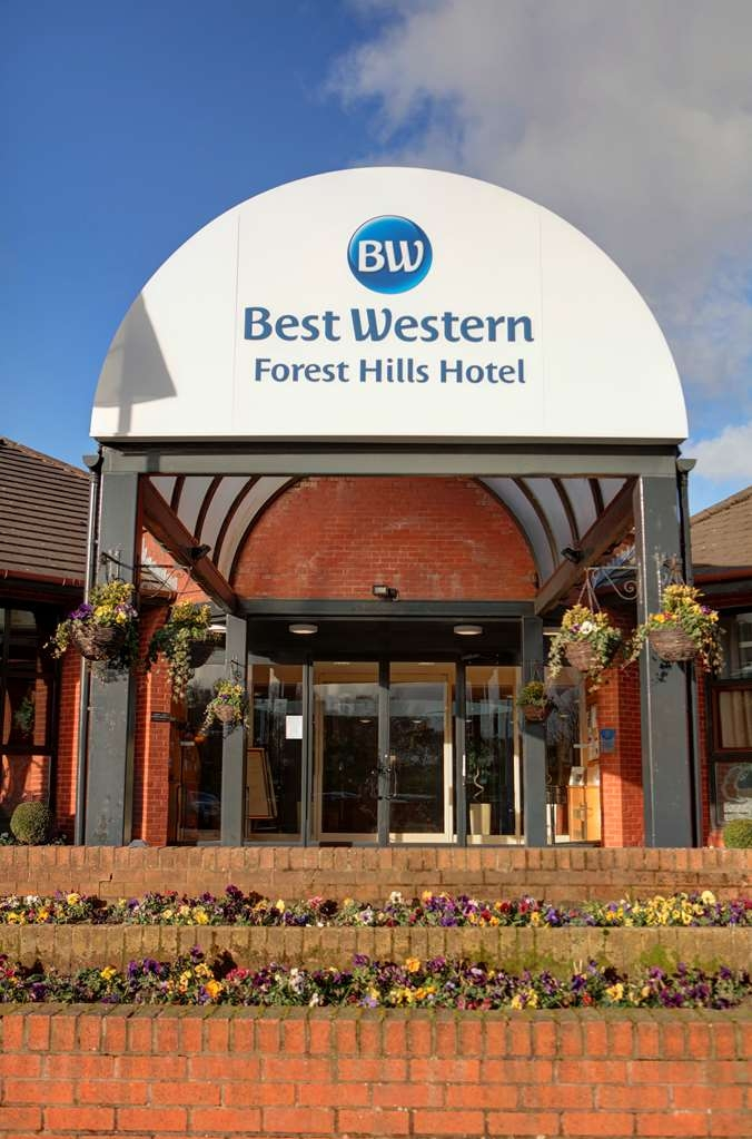 Best Western Frodsham Forest Hills Hotel - forest hills hotel grounds and hotel OP