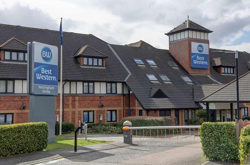 Best Western Nottingham Derby - nottingham derby hotel grounds and hotel