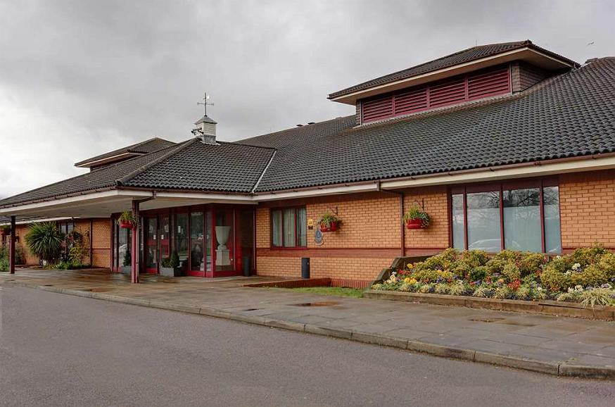 Best Western Brook Hotel Norwich - brook hotel grounds and hotel