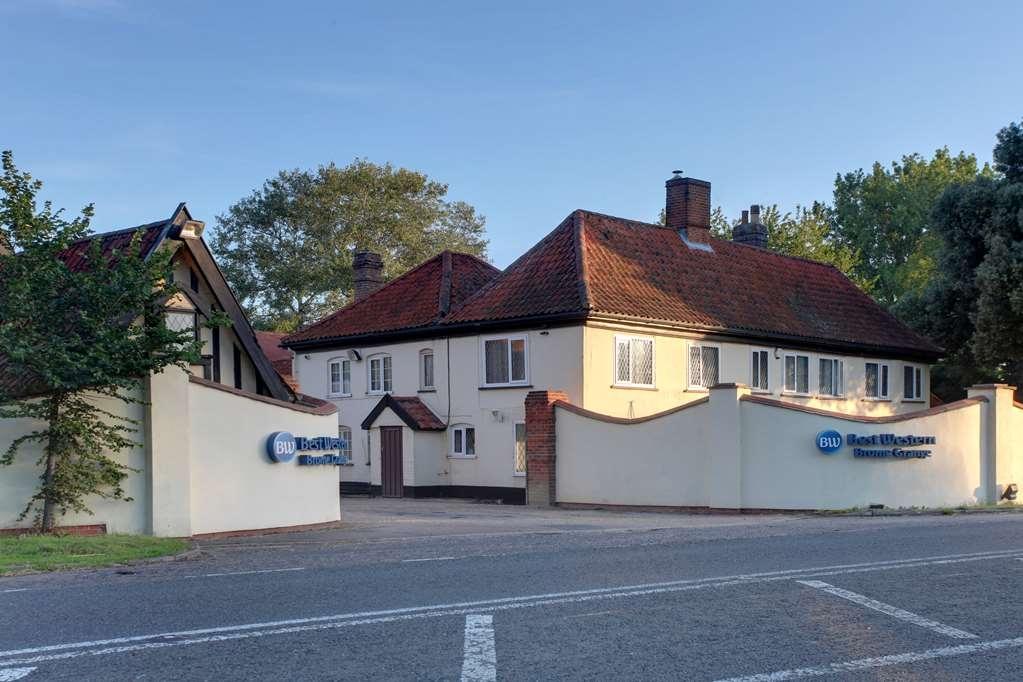 Best Western Brome Grange Hotel - Vista Exterior