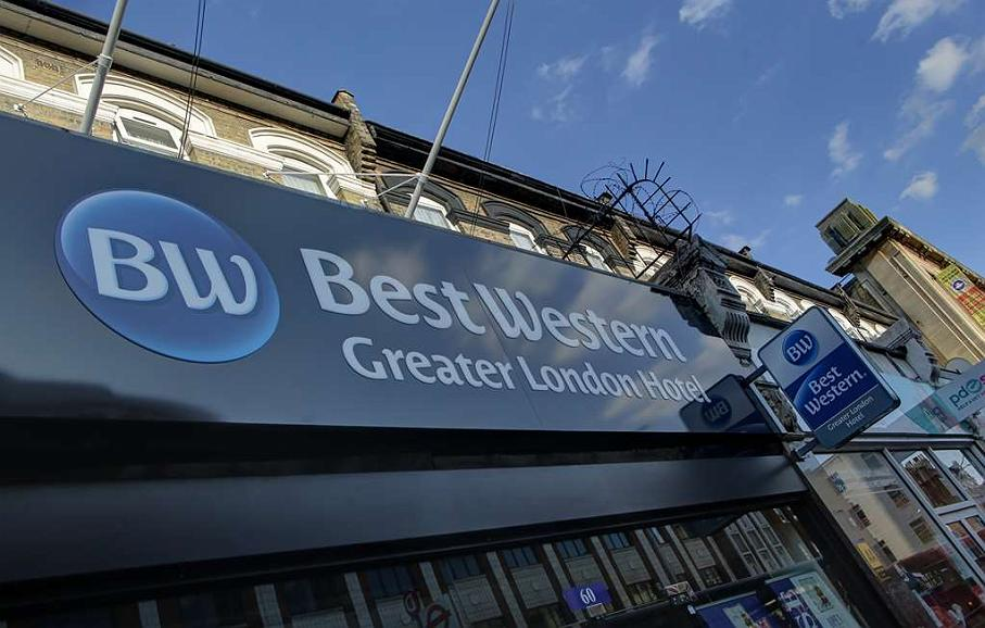 Best Western Greater London Hotel - Aussenansicht