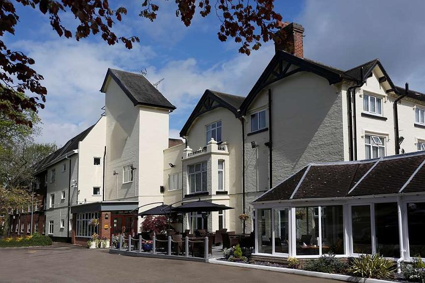 Best Western Stafford M6/J14 Tillington Hall Hotel - Aussenansicht