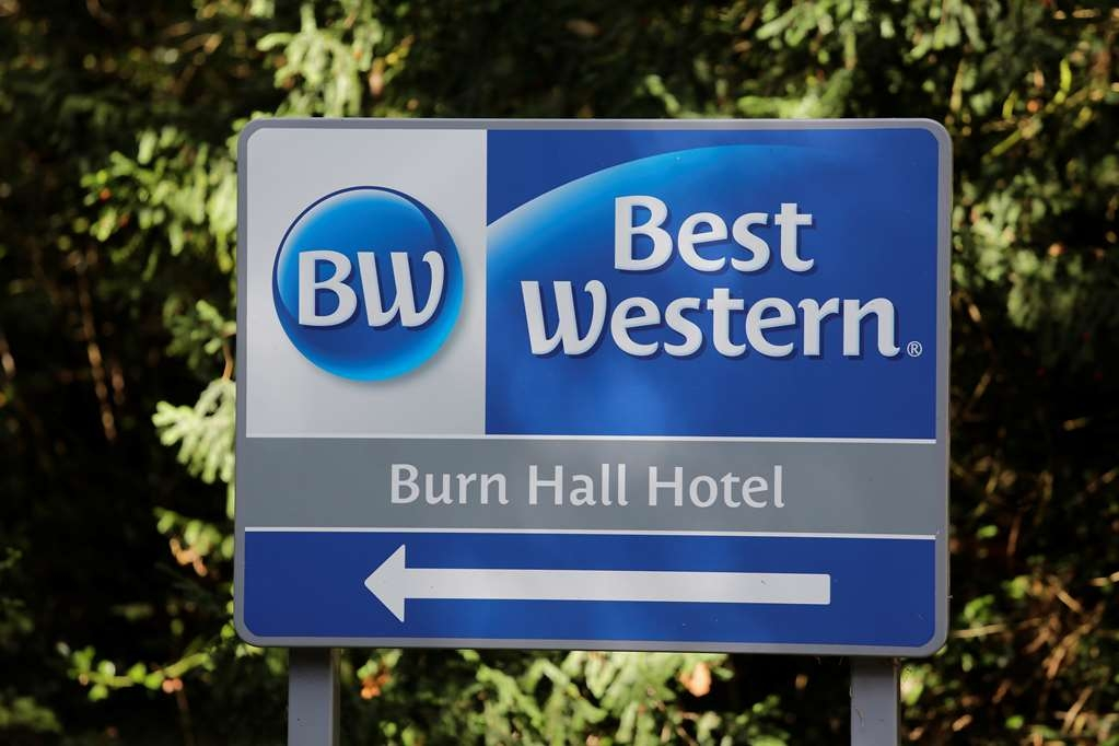 Best Western Burn Hall Hotel - burn hall hotel grounds and hotel
