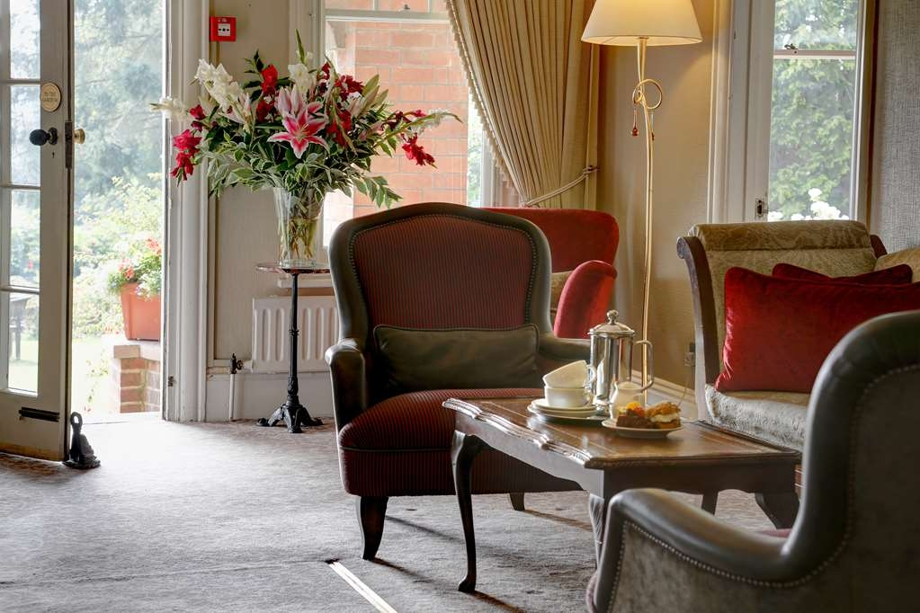 Best Western Sysonby Knoll Hotel - Vista del vestíbulo