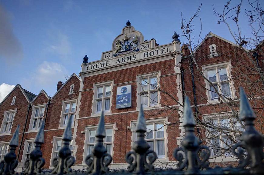 Best Western Crewe Arms Hotel - Vista exterior