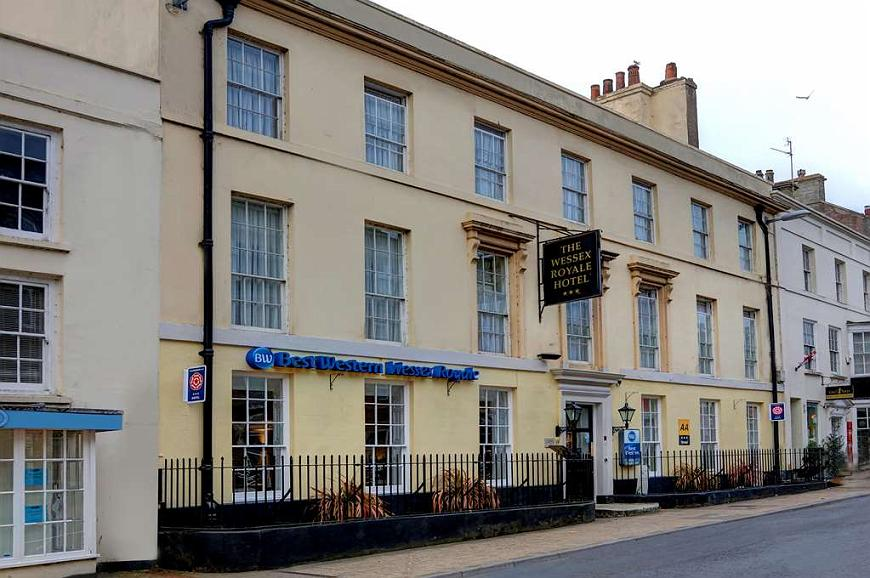 Best Western Wessex Royale Hotel Dorchester - Area esterna