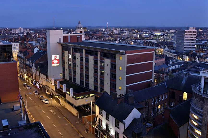 Best Western Plus Nottingham City Centre - Aussenansicht