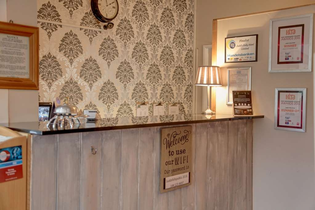 The Judds Folly Hotel, Sure Hotel Collection by Best Western - Reception Desk