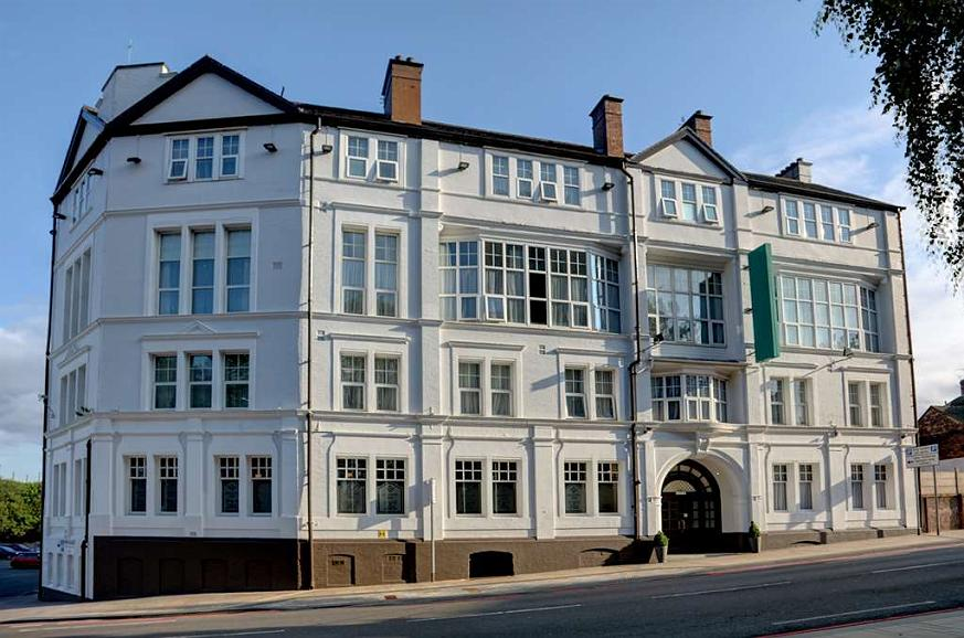 Best Western Stoke on Trent City Centre Hotel - Aussenansicht