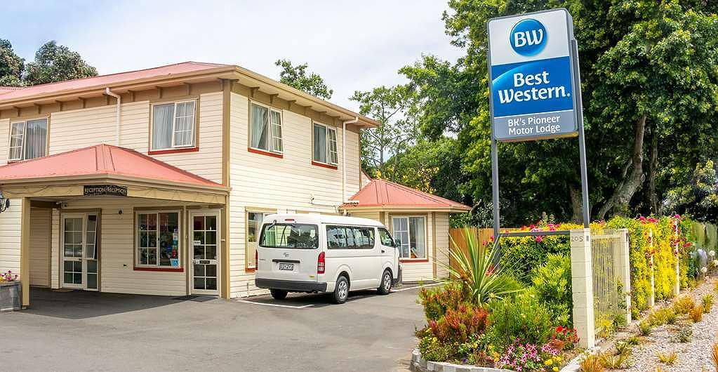 Best Western BK's Pioneer Motor Lodge - Hotel Exterior