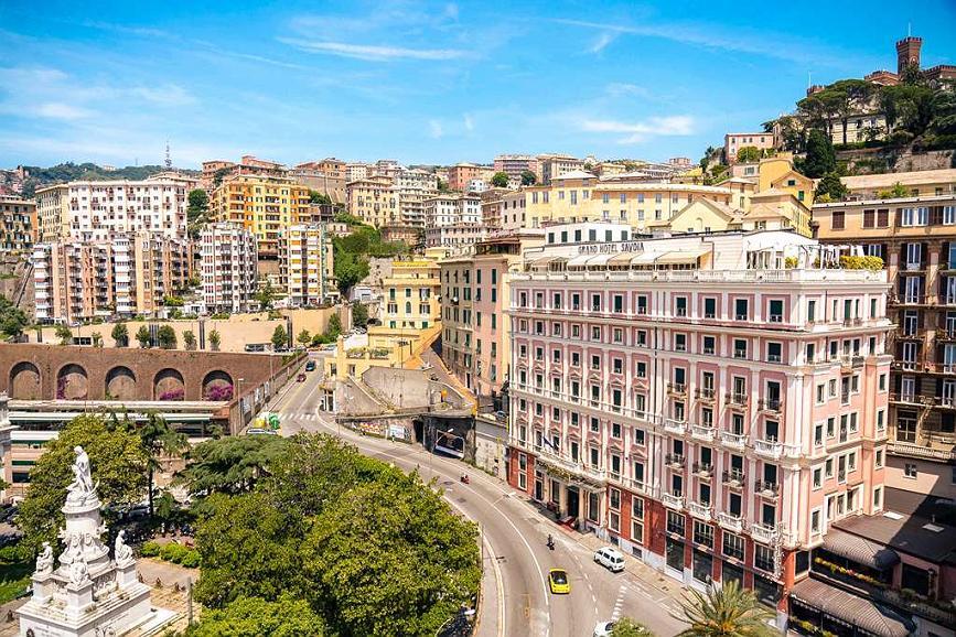 Hotel Genoa Buchen Grand Hotel Savoia