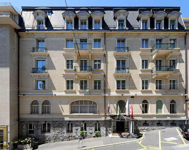 Hotel Victoria Lausanne - Vue extérieure