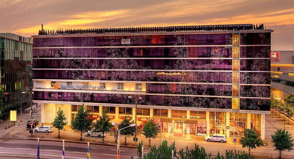 Nordic Hotel Forum - Vista exterior